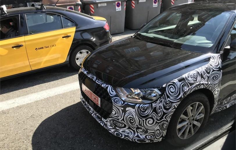 Parte delantera A1 - El nuevo Audi A1 allroad quattro ha sido cazado