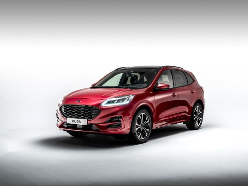 2560 300012 - El Ford Kuga se renueva como SUV híbrido, híbrido enchufable, mild hybrid, además de gasolina y diésel