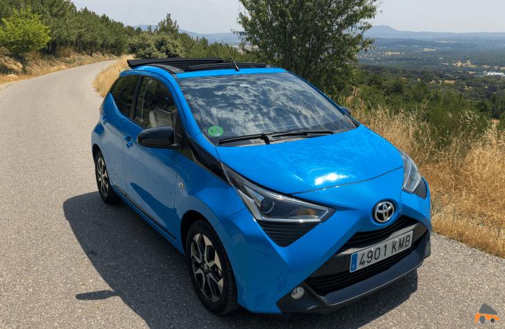 Frontal lateral derecho Toyota Aygo - Toyota Aygo 2019 ¿Es una buena alternativa para la ciudad?