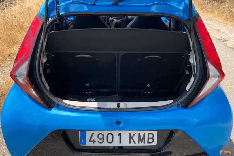 Maletero Toyota Aygo 1260x840 - Toyota Aygo 2019 ¿Es una buena alternativa para la ciudad?