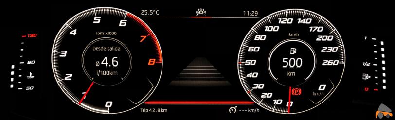 Tacometro 2 Seat Arona - Seat Arona Xcellence Edition 1.0 TSI 95 CV