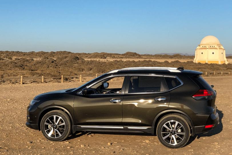 Lateral Izquierdo Nissan X Trail 2019 1260x840 - Prueba del Nissan X-Trail en un viaje largo. Ahora tiene nuevos motores e introduce el sistema ProPilot