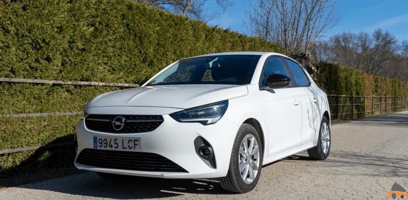 Frontal lateral izquierdo Opel Corsa Edition 2020 - Opel Corsa 2020: Un utilitario para tenerlo muy en cuenta