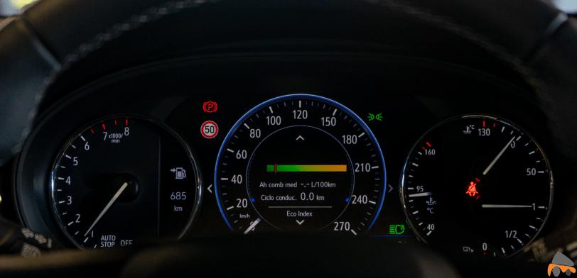 Tacometro Opel Astra 2020 145 CV - Opel Astra 2020 1.2 Turbo con 145 CV: Una renovación leve, pero muy necesaria