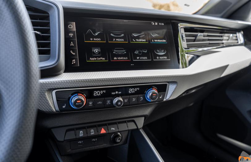 Pantalla central Audi A1 Sportback 25 TFSI - Audi A1 Sportback 25 TFSI: Un juguete muy divertido