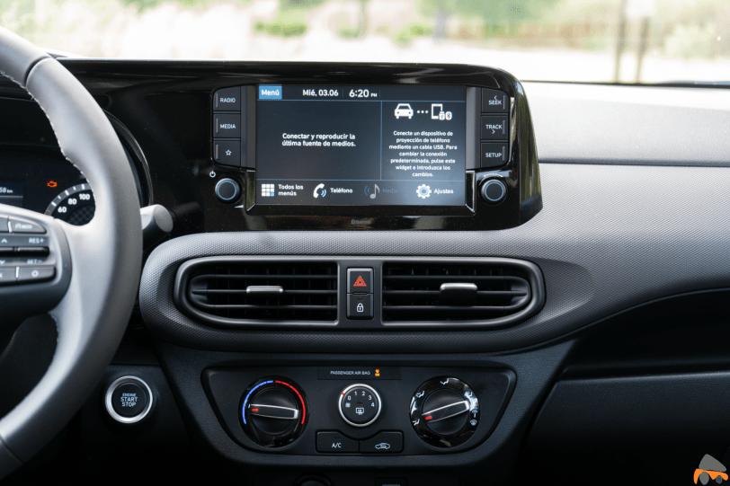Pantalla multimedia Hyundai i10 - Hyundai i10 2020: Un coche para la juventud