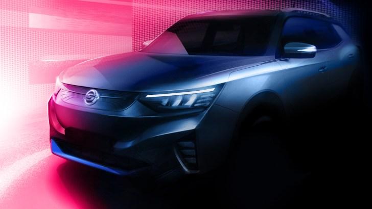 SsangYong E100 Teaser 2 - Primeras imágenes del primer SsangYong 100% eléctrico