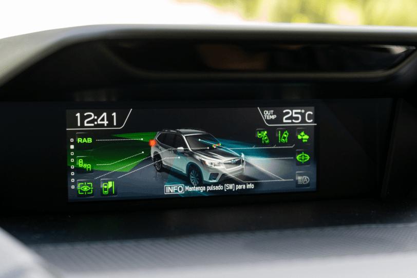EyeSight Subaru Forester Hybrid 1260x840 - Prueba Subaru Forester Eco Hybrid 2020: Todo un auténtico todoterreno