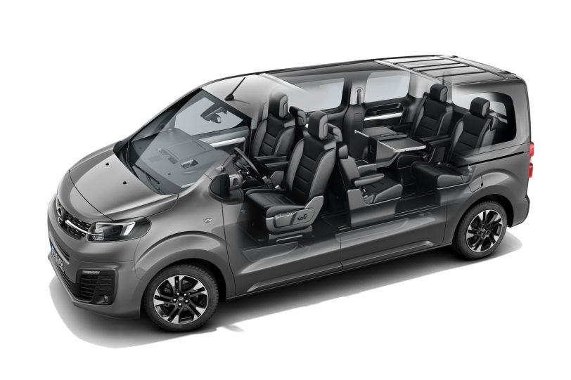 Opel Zafira Life Interior Illustration 505831 scaled - Prueba Opel Zafira Life 2020: El compañero perfecto para viajar
