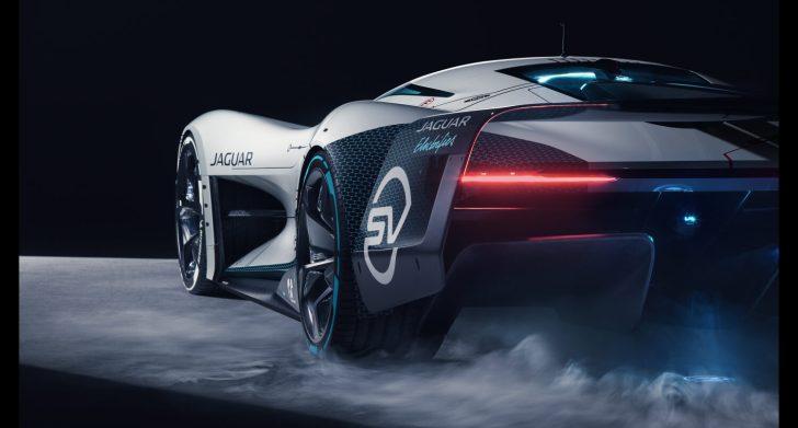 Jag GTSV Studio Rear34 1 161220 e1608135201121 - Jaguar Vision Gran Turismo SV: Un coche para la videoconsola