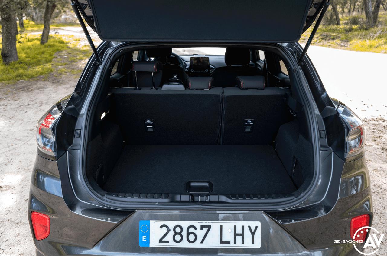 Maletero Ford Puma ST Line 1 0 EcoBoost 125 CV Automatico - Prueba Ford Puma 2020 ST Line: Un SUV urbano llamativo y cómodo