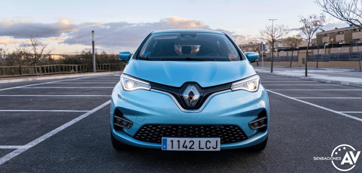 Frontal Renault Zoe - Prueba Renault Zoe Zen 50kWh: ¿De los mejores eléctricos?