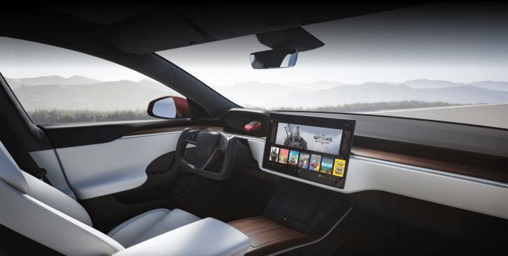 Interior nuevo Tesla Model S 2021 - Nuevo Tesla Model S 2021: Pensado para no conducir