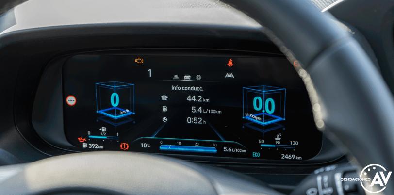 Tacometro Hyundai i20 - Prueba Hyundai i20 2021: ¿Evolución o revolución?