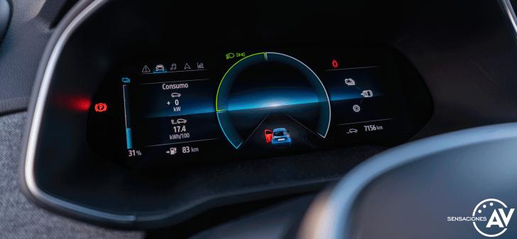 Tacometro Renault Zoe - Prueba Renault Zoe Zen 50kWh: ¿De los mejores eléctricos?