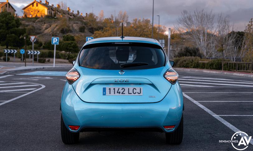 Trasera Renault Zoe - Prueba Renault Zoe Zen 50kWh: ¿De los mejores eléctricos?
