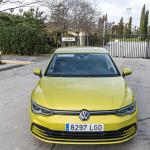 Frontal elevado Volkswagen Golf 8 - Volkswagen Golf 8 1.5 eTSI 150 CV: ¿El rey con etiqueta ECO?