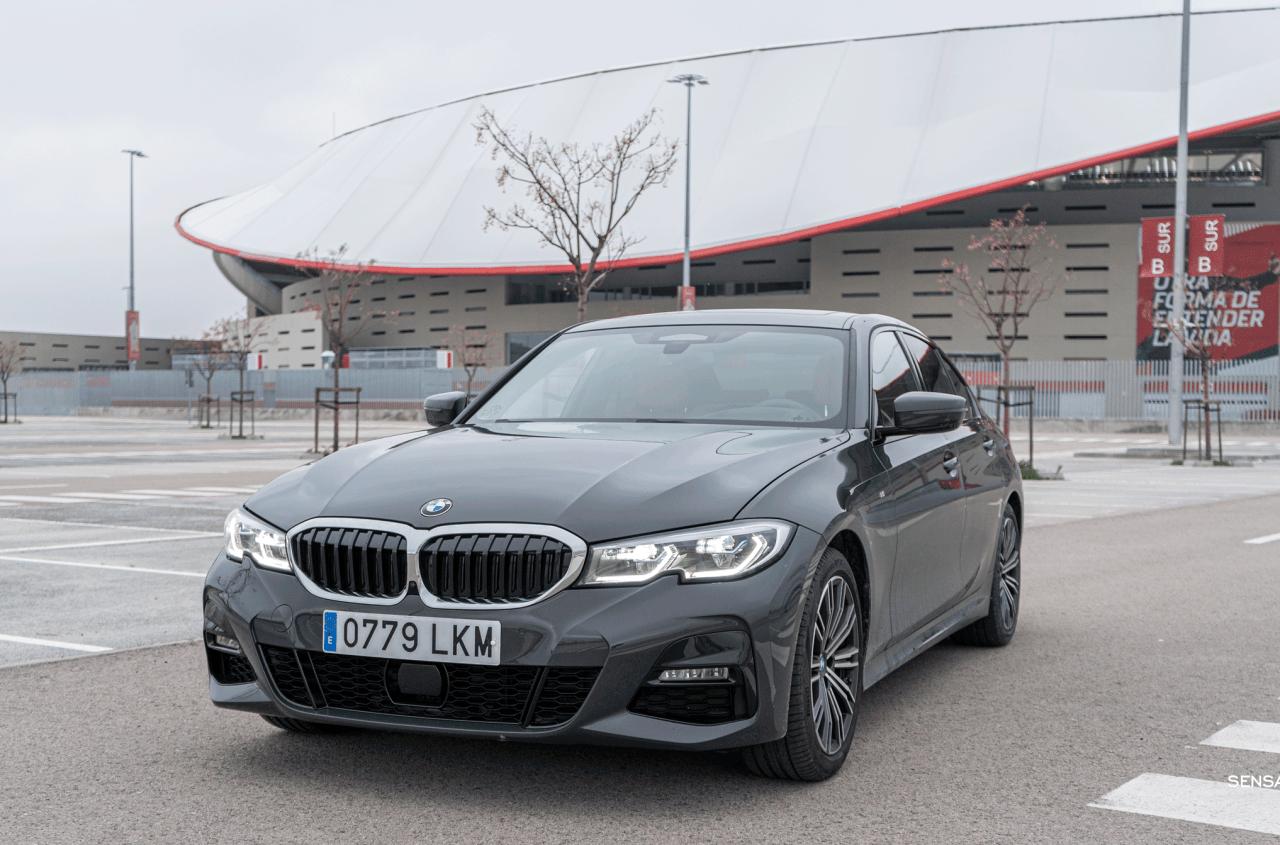 Frontal vista izquierda BMW Serie 3 320d XDrive M Sport Individual - Prueba BMW Serie 3 320d XDrive: Una berlina deportiva y tecnológica