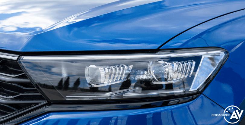Faro delantero izquierdo Volkswagen T Roc - Prueba Volkswagen T-Roc Advance Style 110 CV: ¿Un Killer del Golf?