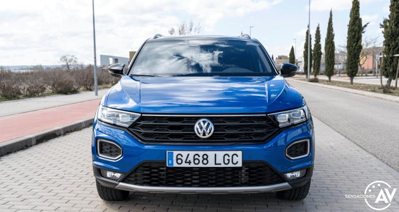 Frontal Volkswagen T Roc - Prueba Volkswagen T-Roc Advance Style 110 CV: ¿Un Killer del Golf?
