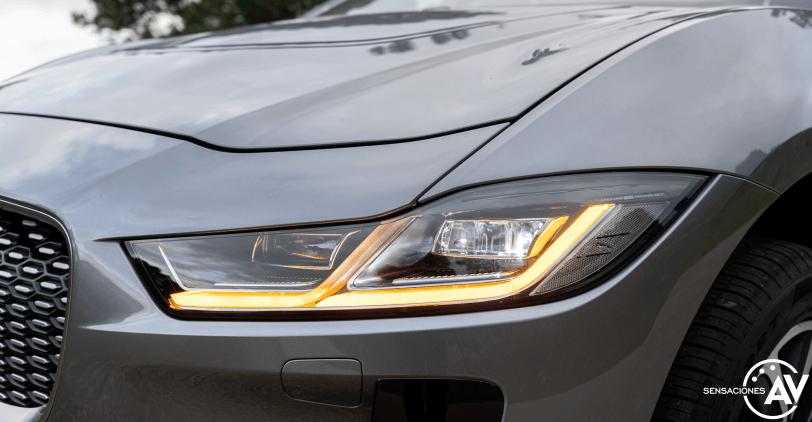 Faro delantero izquierdo Jaguar I Pace - Prueba Jaguar I-Pace EV400: Una sonrisa permanente y 370 km de autonomía