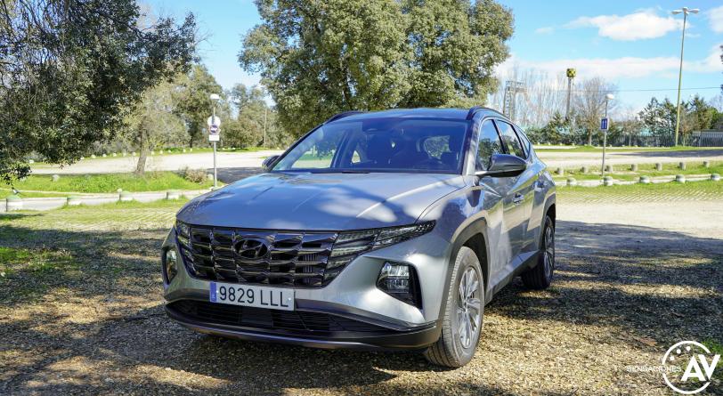 Frontal izquierdo Hyundai Tucson 2020 - inicio