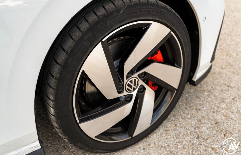 Llanta Volkswagen Golf GTI - Prueba Volkswagen Golf 8 GTI 245 CV DSG: Una bomba divertida, polivalente y racional