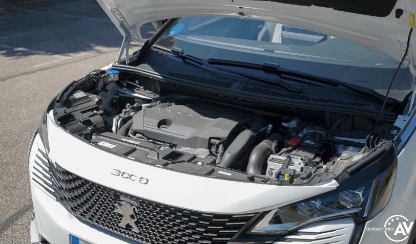 Motor Peugeot 3008 Hybrid4 PHEV - Prueba Peugeot 3008 Hybrid4 2021 GT-Pack: La versión PHEV más radical del SUV francés