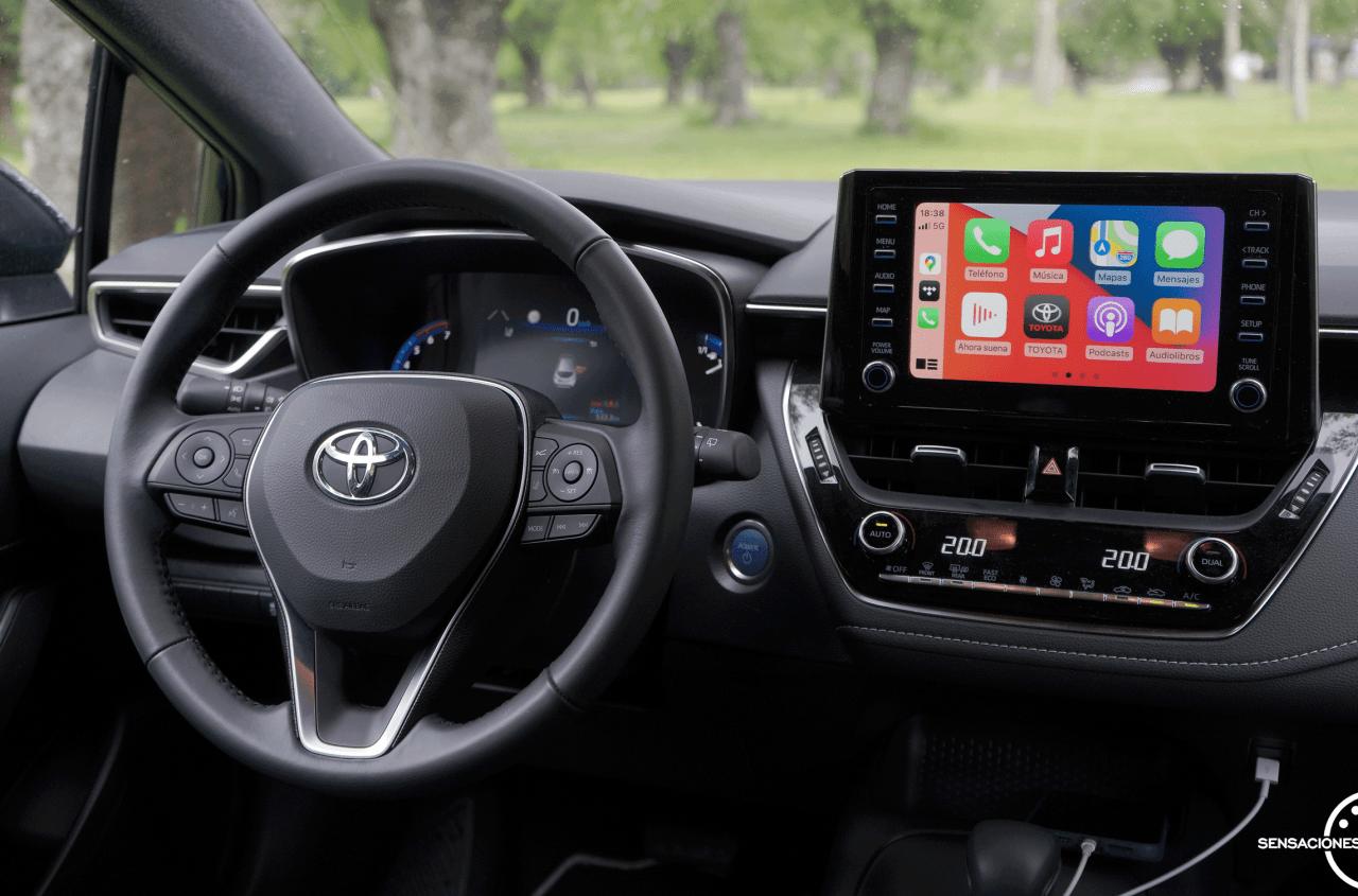 Puesto de conduccion Toyota Corolla - Prueba Toyota Corolla Active Tech 125H 2021: ¿El candidato perfecto? ¿Un Golf Killer?