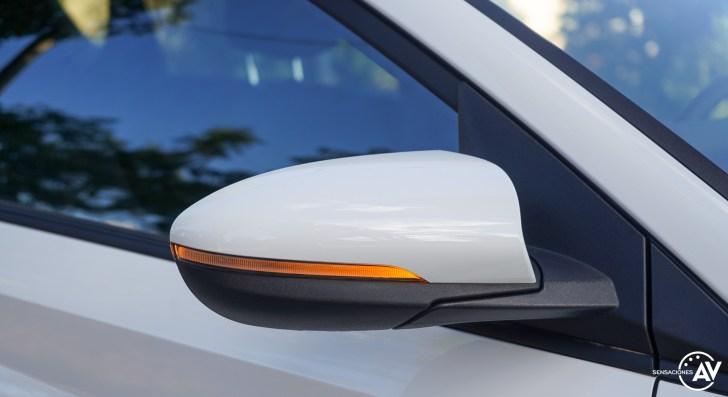 Espejo derecho Hyundai Bayon - Prueba Hyundai Bayon 1.0 TGDi 48 V 100 CV AT Tecno: ¿El nuevo rey del segmento B-SUV?