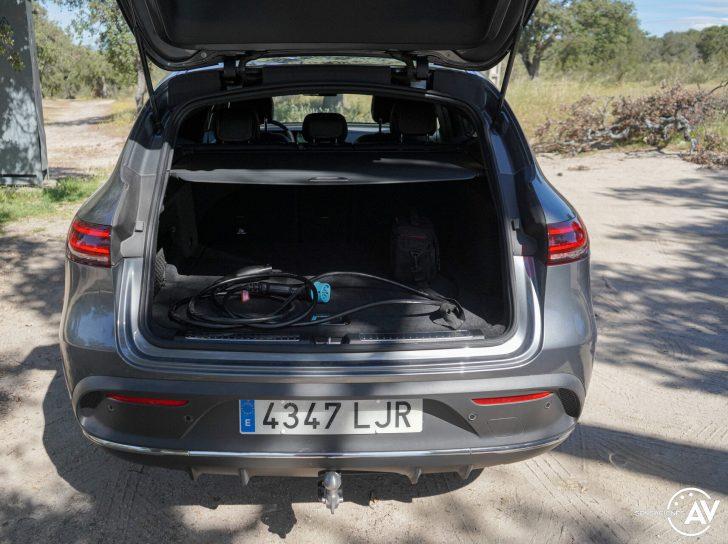 Maletero Mercedes EQC e1628956545761 - Prueba Mercedes-Benz EQC 400 4Matic: El SUV eléctrico de Mercedes que destaca por su confort y por su tecnología