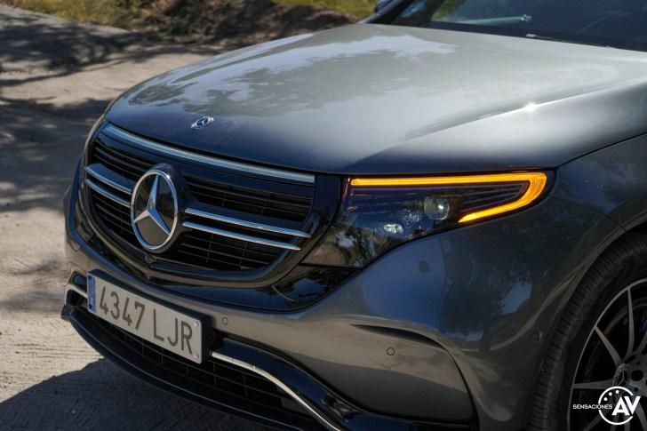 Parilla Mercedes EQC - Prueba Mercedes-Benz EQC 400 4Matic: El SUV eléctrico de Mercedes que destaca por su confort y por su tecnología
