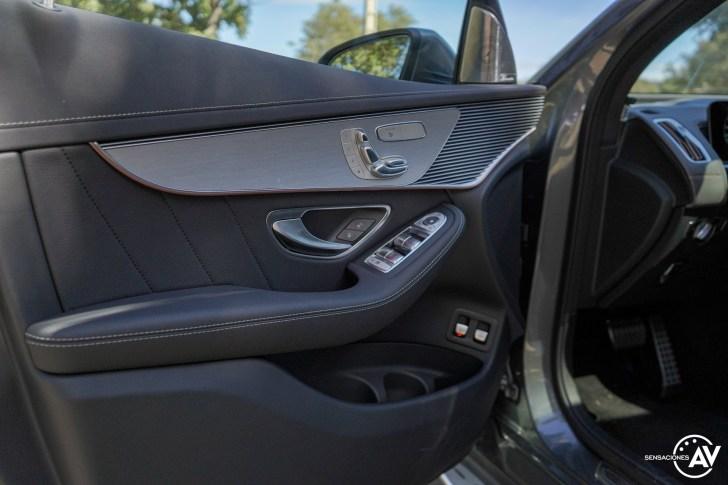 Puerta del conductor Mercedes EQC - Prueba Mercedes-Benz EQC 400 4Matic: El SUV eléctrico de Mercedes que destaca por su confort y por su tecnología