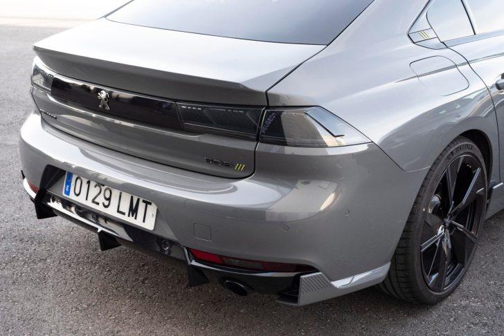 508PSE 21 scaled - Prueba Peugeot 508 PSE: Deportividad enchufable al estilo francés