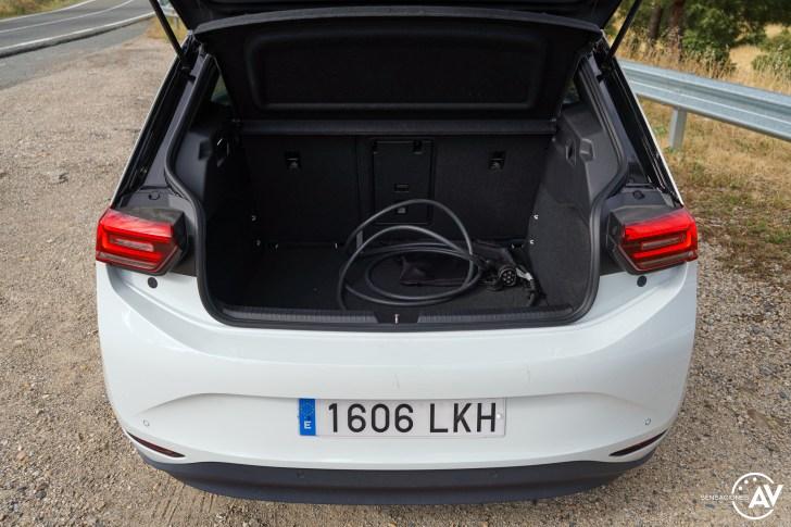 Maletero Volkswagen ID3 - Prueba Volkswagen ID.3 Pro 2021: Una nueva era eléctrica