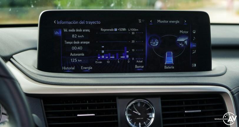 Pantalla multimedia Lexus RXL - Prueba Lexus RX 450hL Executive 2021: ¿El SUV de lujo más cómodo con 7 plazas?