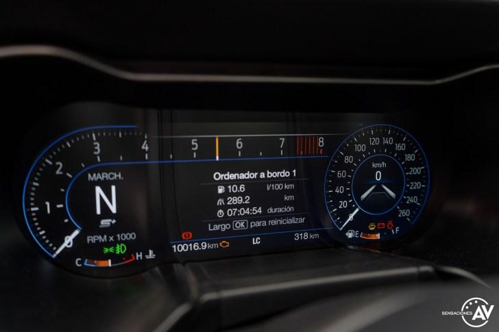 Tacometro 2 Ford Mustang - Prueba Ford Mustang GT Fastback 2021: Puro músculo. ¡Que Dios bendiga a América!