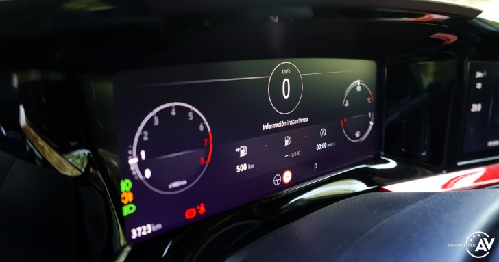 Tacometro Opel Mokka 2021 - Prueba Opel Mokka 2021: Menos normal, más Mokka
