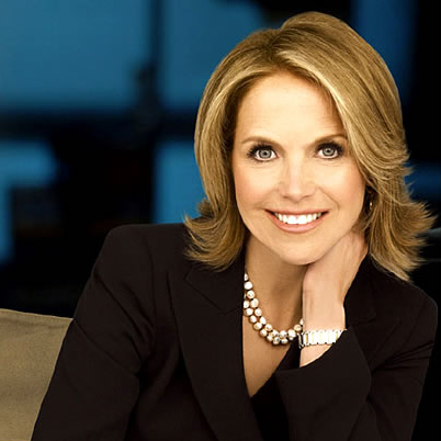 Katie Couric Wardrobe Misstep As First Solo Anchorwoman