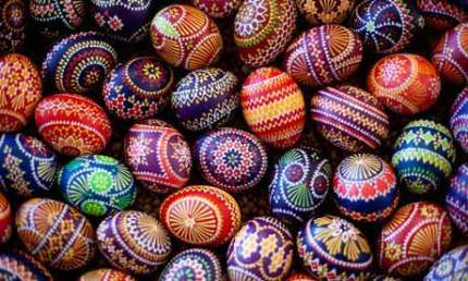Image result for colorful easter eggs