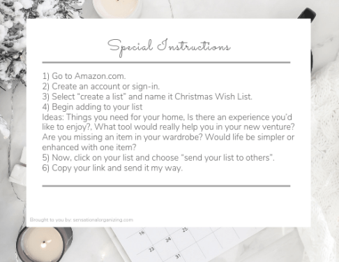 The perfect gift request 3.1