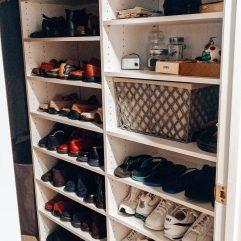 Organized shoes-men