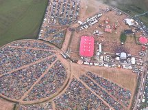 Arial Photo of the Wakestock grounds .