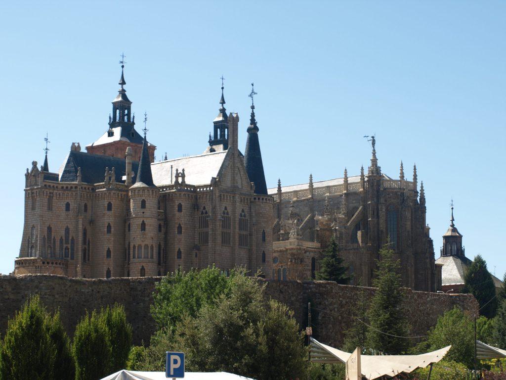 Astorga, sur l'EuroVelo 3