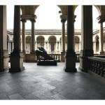 Pinacoteca di Brera white in the city