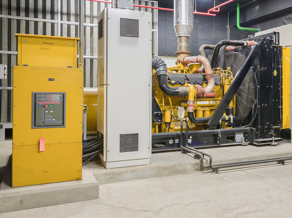 flame detection for generator rooms