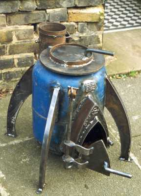 Our Rocket Stove Water Heater 2 5 Years On