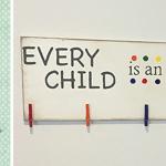DIY Kid's Art Board