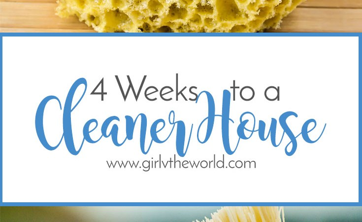 4 Weeks to a Cleaner House