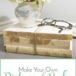 Make Your Own Distressed Books {Restoration Hardware Knockoff}